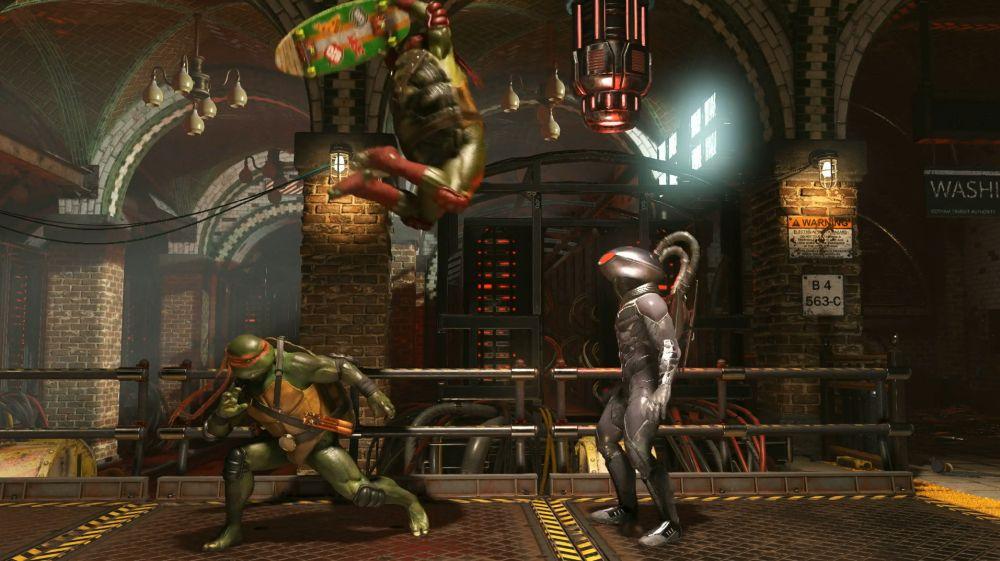 Injustice 2 | Primera imagen in-game de las Tortugas Ninja