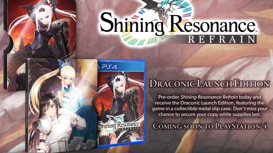 Shining Resonance Refrain llegará a Europa este verano para PS4, Xbox One, Switch y PC