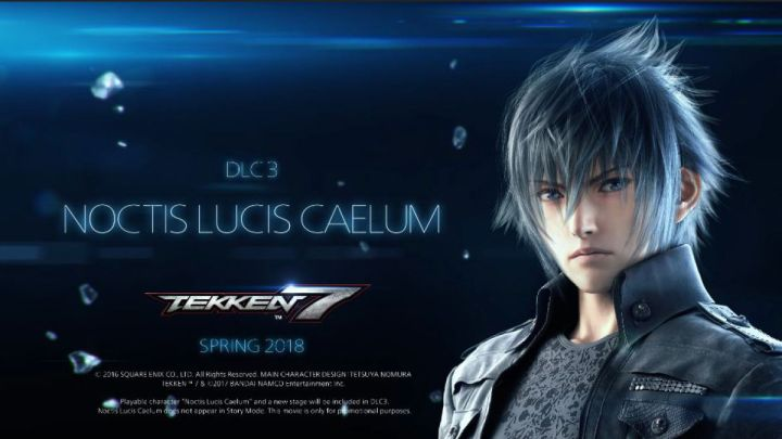 Noctis, de Final Fantasy XV, estará disponible el 20 de marzo para Tekken 7