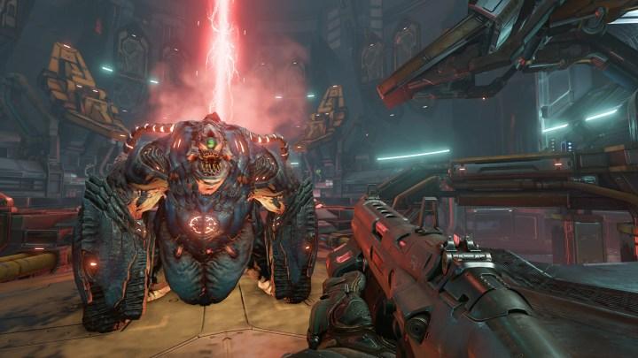 DOOM ya dispone de parche con resolución 4K para PS4 Pro y Xbox One X