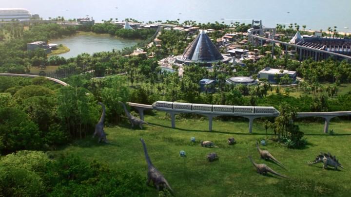 Bienvenidos a Jurassic World