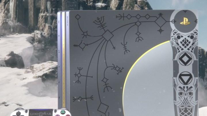 Sony acompañará el lanzamiento de God of War con una edición limitada de PS4 Pro