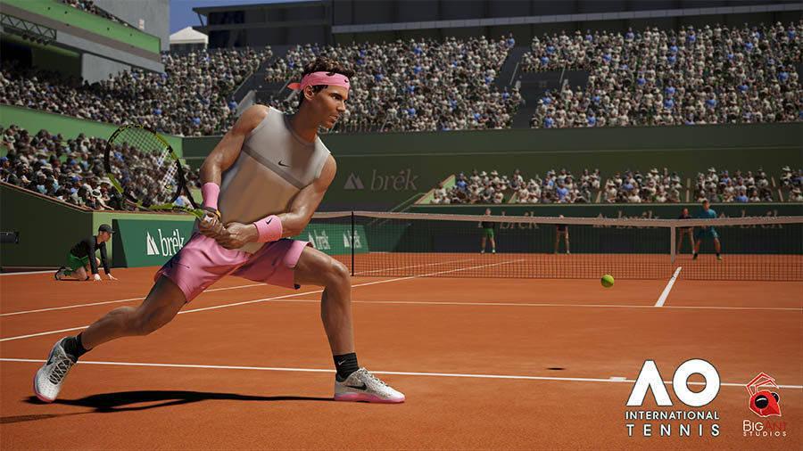 Descubre los diferentes tipos de golpeo de AO International Tennis en su nuevo gameplay