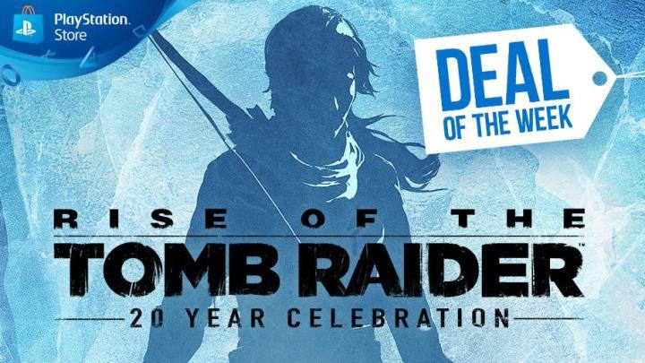 Rise of the Tomb Raider: 20 Year Celebration es la oferta de la semana en PlayStation Store