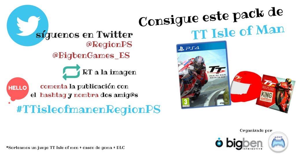 ¡Sorteamos una copia de TT Isle of Man para PS4 + DLC+ Casco de Goma!