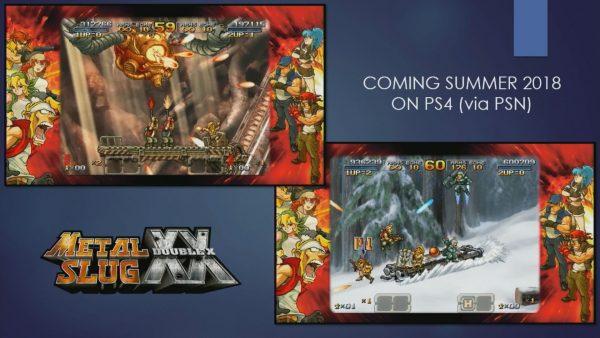 Metal Slug XX confirma su lanzamiento en PlayStation 4 para este mismo verano
