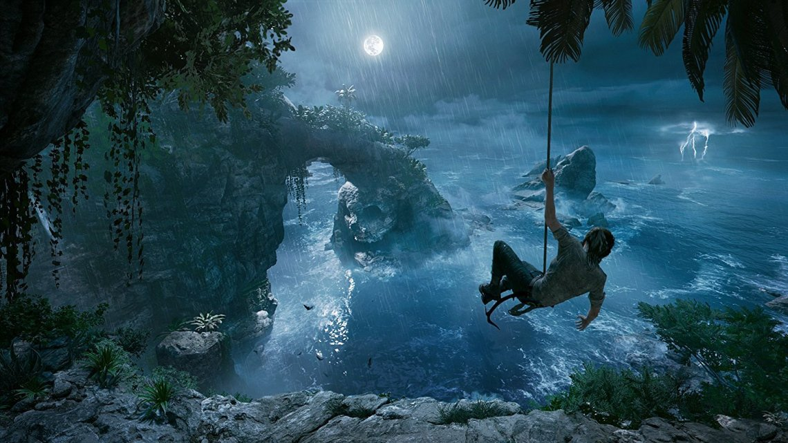 E32018 |  Así funciona el buceo libre de Lara Croft en Shadow of The Tomb Raider