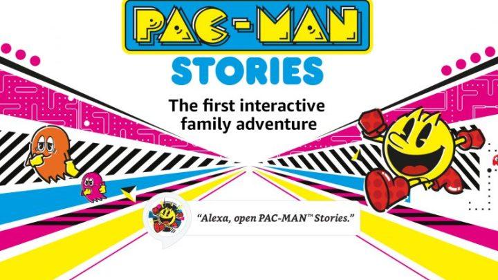 PAC-MAN STORIES protagoniza su primera aventura interactiva con Amazon Alexa
