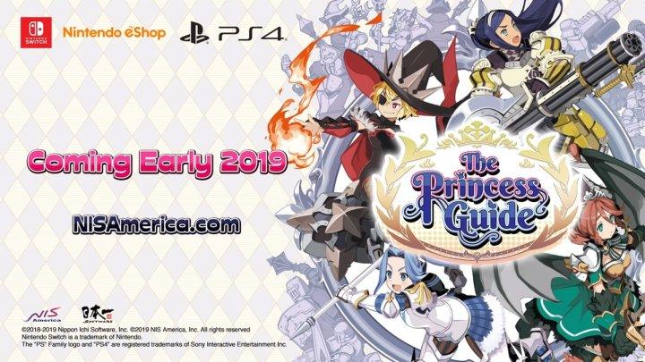 NIS America anuncia que The Princess Guide llegará a Nintendo Switch y PS4 en 2019