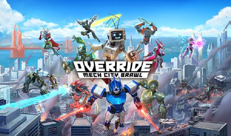 Override: Mech City Brawl se prepara para la beta cerrada del 10 al 12 de agosto