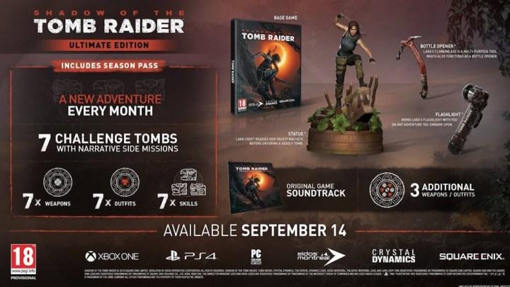 Impresionante Unboxing de la Edición Coleccionista de Shadow of the Tomb Raider