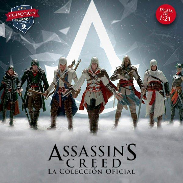 ECC Ediciones presenta la colección Vertigo y los Coleccionables de Assassin's Creed