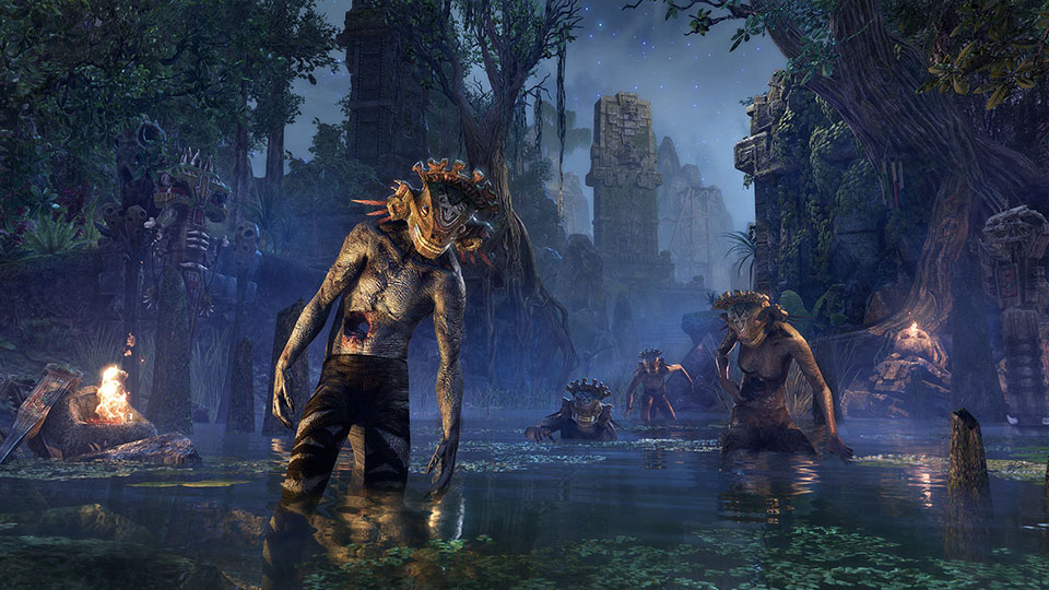 Murkmire, la nueva expansión de TESO, se estrenará en PS4 y Xbox One el próximo mes de noviembre