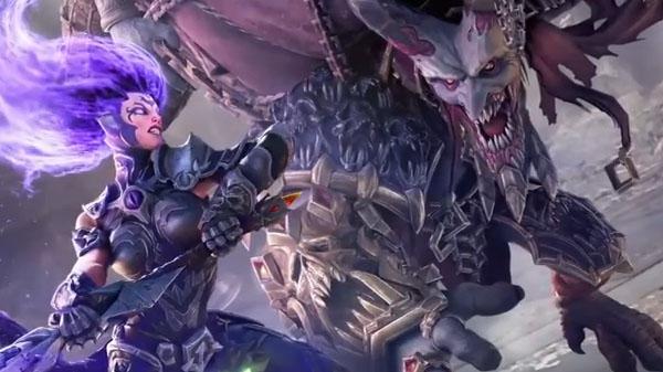 Furia desata su fuerza en el nuevo tráiler de DarkSiders III