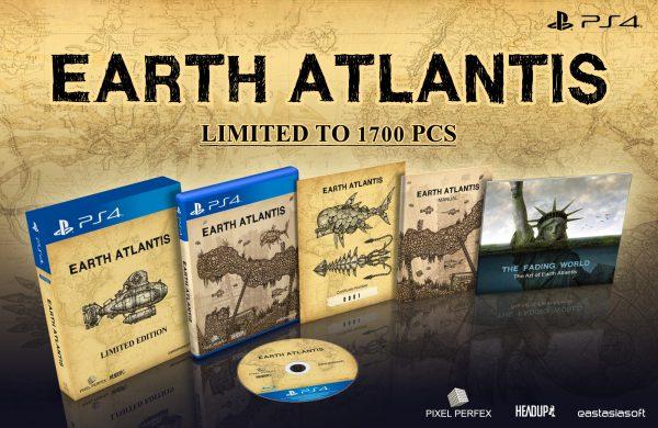 Descubre la edición física limitada de Earth Atlantis