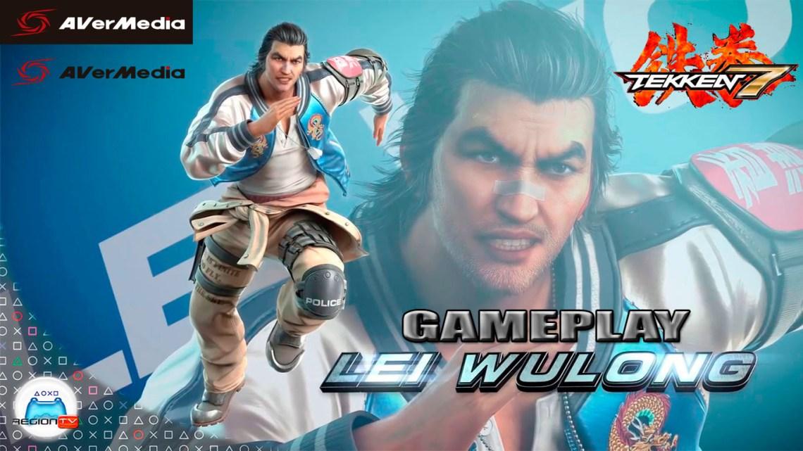 RegiónTV   Gameplay Tekken 7 DLC 5 Lei Wulong