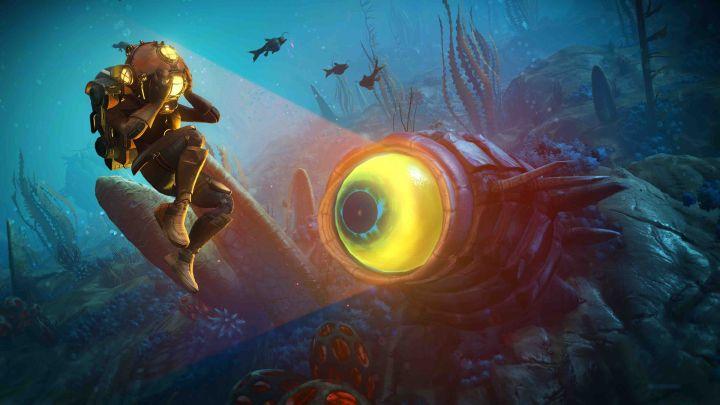 No Man's Sky sumerge al jugador en el mundo acuático con la actualización 'The Abyss', disponible en PS4