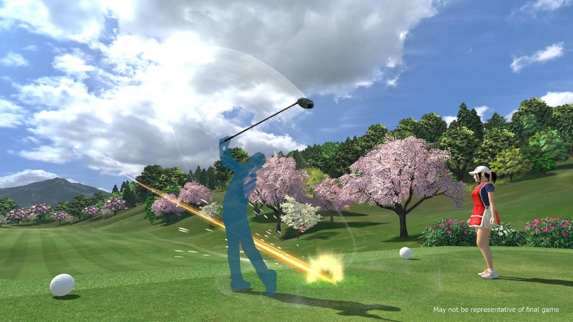 """Everybody's Golf VR nos muestra cómo se ejecuta el verdadero """"Swing"""" en su último tráiler"""