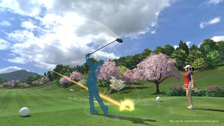 Everbody's Golf VR se presenta en un divertido tráiler de acción real