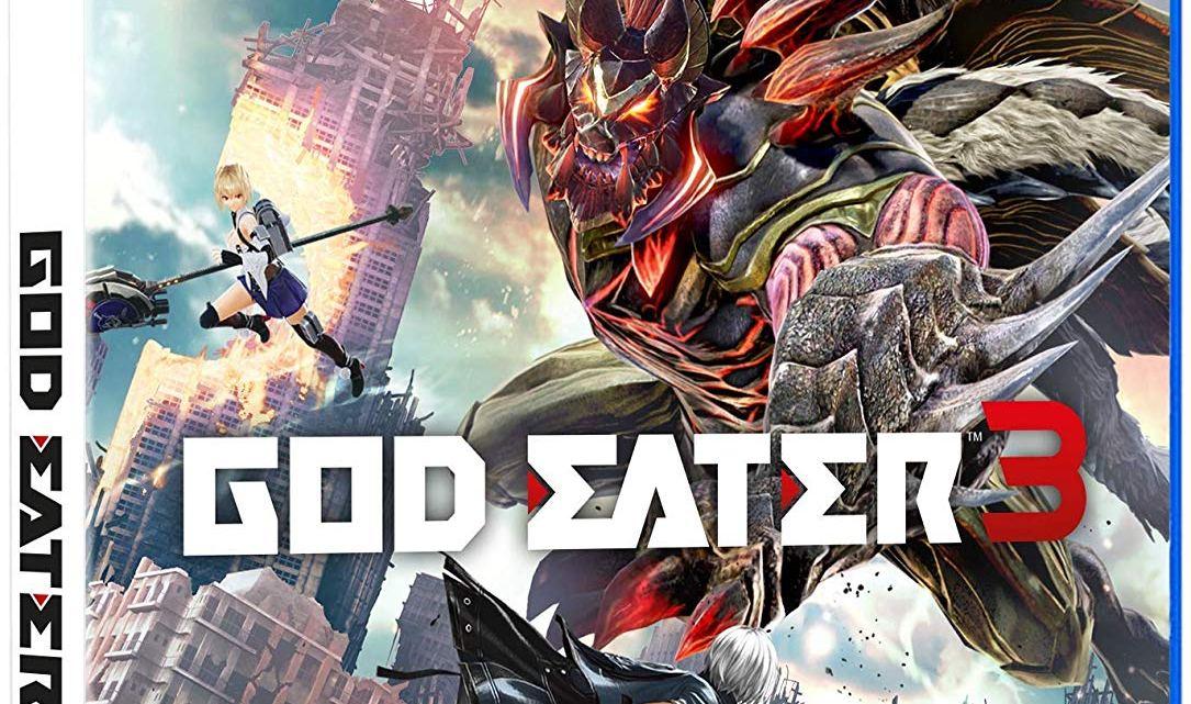 Reveleado el arte de la caja de God Eater 3