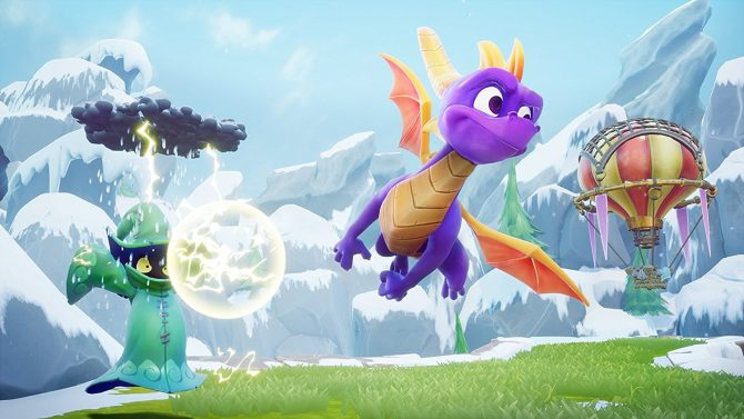 Spyro Reignited Trilogy | Nuevo gameplay del nivel 'Frozen Altars' perteneciente a Spyro: Year of the Dragon