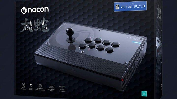 Nacon Daija Arcade Stick para PS4 estará disponible el 15 de noviembre