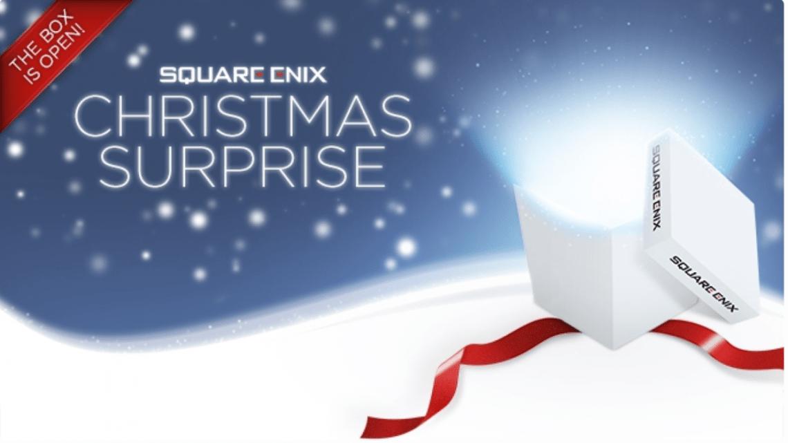 Promociones navideñas para los títulos digitales de Square Enix