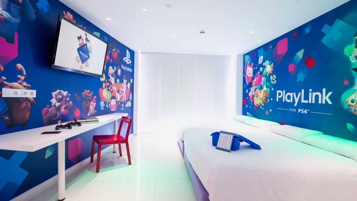 PlayStation inaugura la habitación PlayLink en el Hotel del Juguete