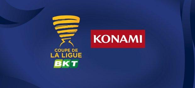 Konami nombrado Major Partner de la Coupe de la LIGUE BKT