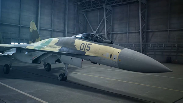 Ace Combat 7: Skies Unknown nos presenta el portentoso Su-35S