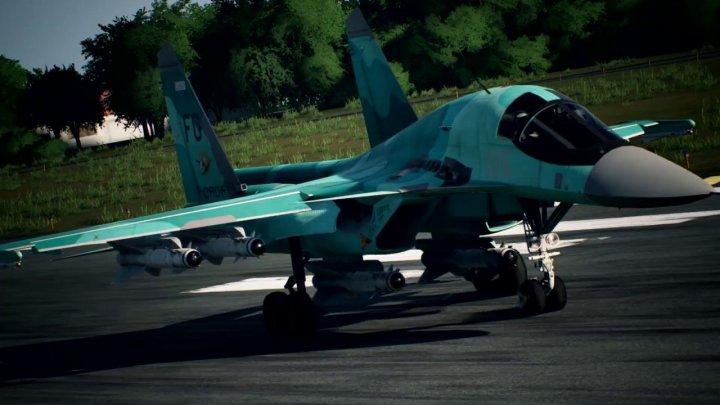 Descubre el Su-34 en el nuevo tráiler de Ace Combat 7: Skies Unknown