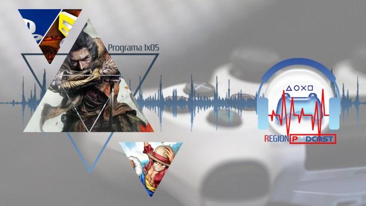RegionPodcast 1×05 | Noticias de la semana, One Piece y Sekiro