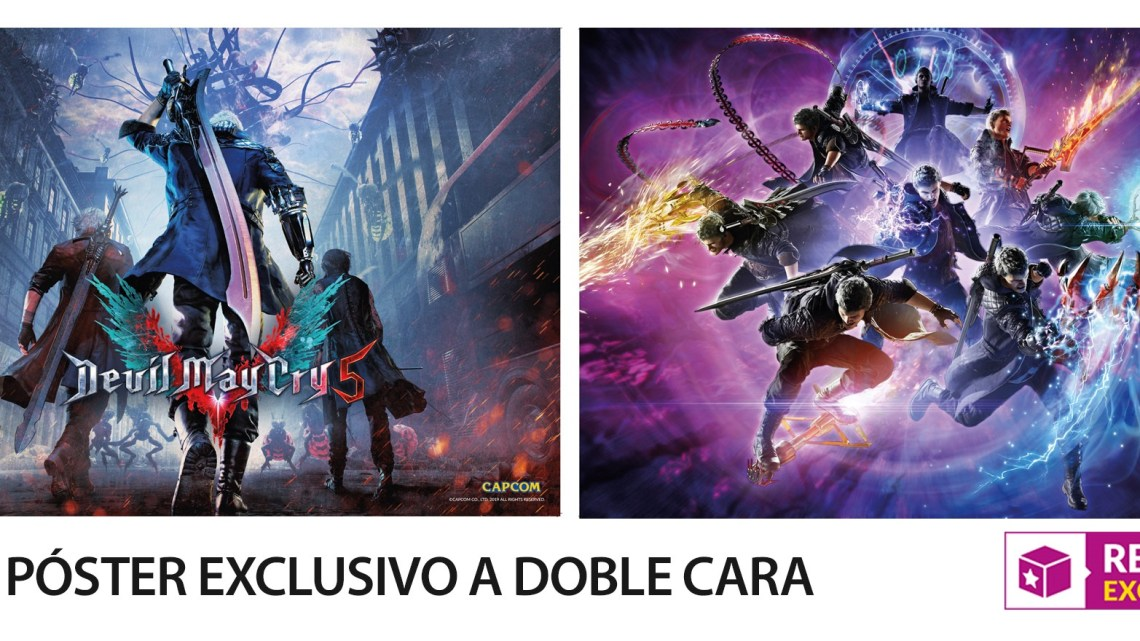 Llévate un póster exclusivo al reservar Devil May Cry V en GAME