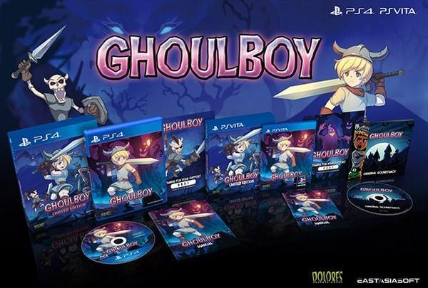 Anunciada la edición física limitada de GhoulBoy para PlayStation 4 y Playstation Vita