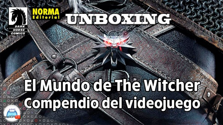 RegiónTV | Unboxing | El mundo de The Witcher