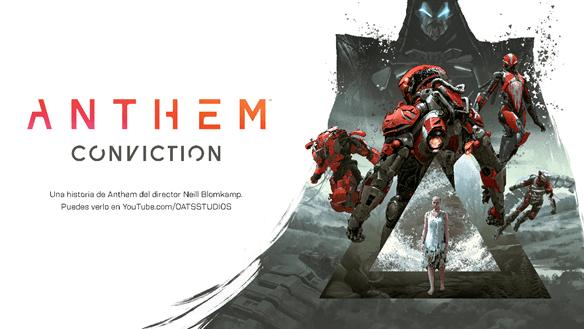 Anthem estrena el corto de imagen real Conviction dirigido por Neill Blomkamp