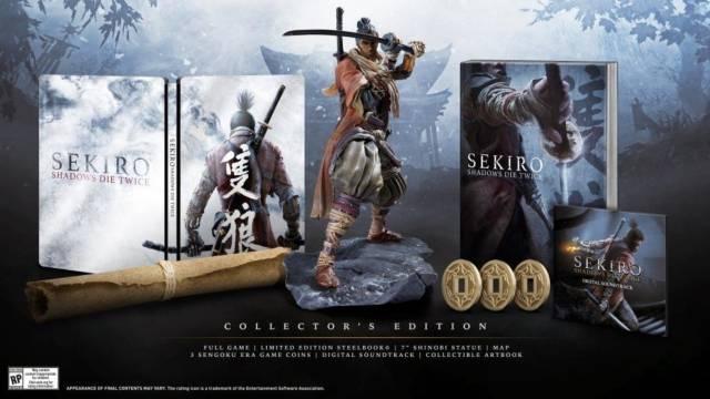 Nuevo Unboxing de la Edición Coleccionista de Sekiro: Shadows Die Twice