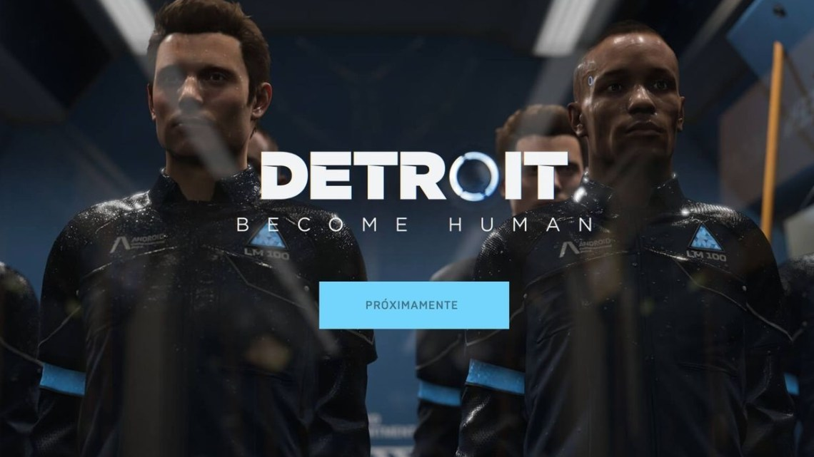 Heavy Rain, Beyon: Two Souls y Detroit Become Human se lanzarán en PC, en exclusiva en Epic Games Store
