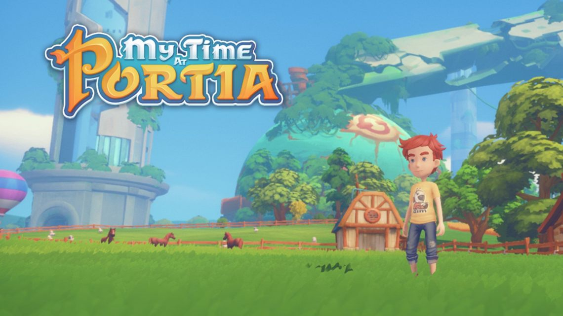 My Time at Portia ya dispone de fecha de lanzamiento en PS4, Switch y Xbox One
