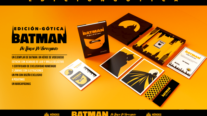 Ya a la venta Batman: Un héroe de videojuego