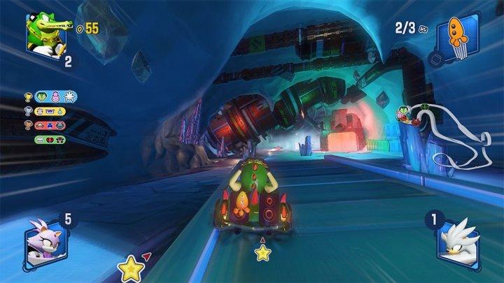 Team Sonic Racing   Nuevas imágenes del circuito Frozen Junkyard