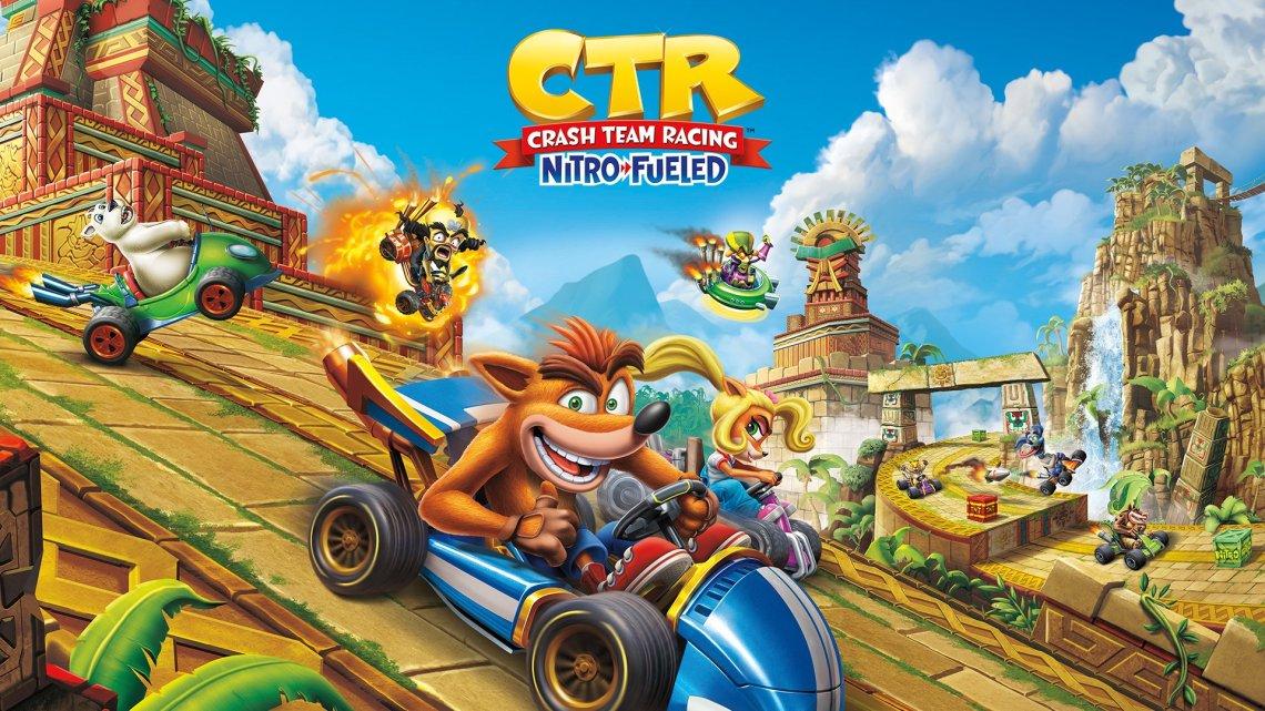 Anunciado el pack de PlayStation 4 + Crash Team Racing Nitro Fueled + 2 Dualshock 4