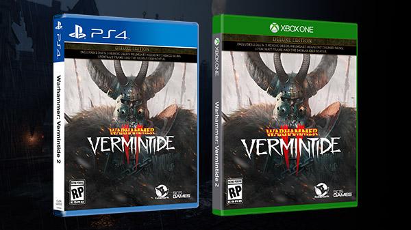 Warhammer: Vermintide 2 tendrá edición física en PS4 y Xbox One