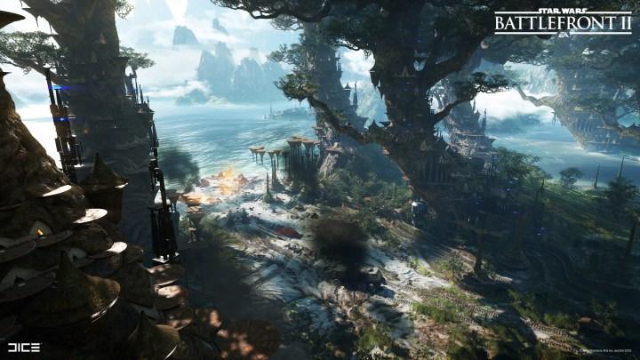 Star Wars: Battlefront II | Nueva actualización introduce un mapa inédito para Supremacía Capital, bloqueo en Yoda y Darth Maul y mucho más