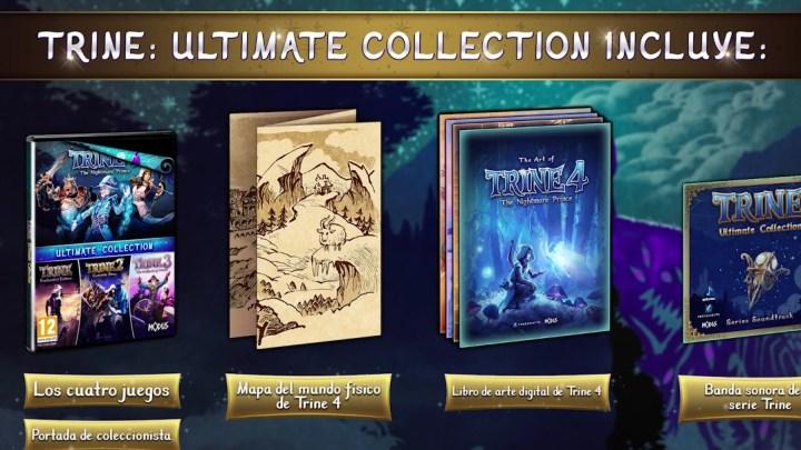 Trine: Ultimate Collection estrena nuevo tráiler y suma versión de Switch para otoño