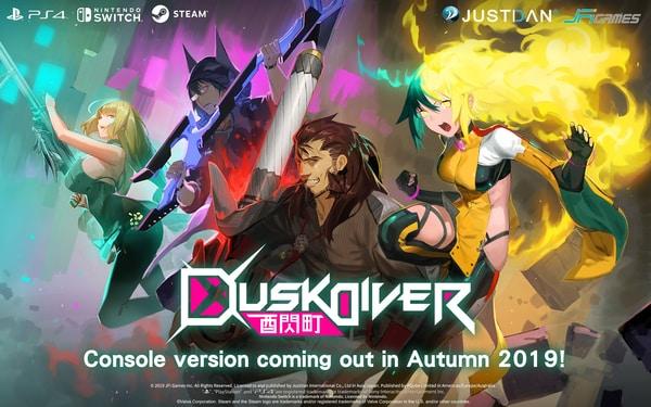 Dusk Diver fija su lanzamiento en Japón parael mes de octubre