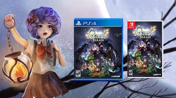 Ghost Parade confirma su lanzamiento en PS4, Switch y PC
