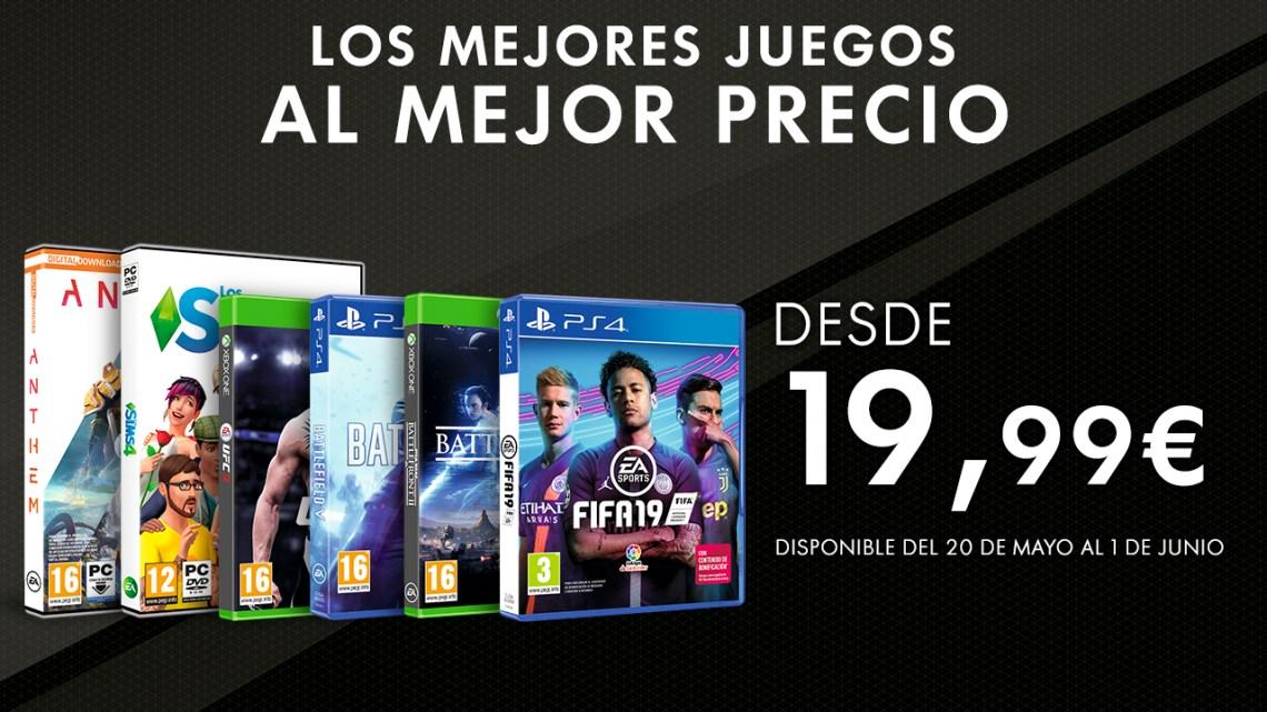 ¡Llegan grandes ofertas a todos los juegos de Electronic Arts!