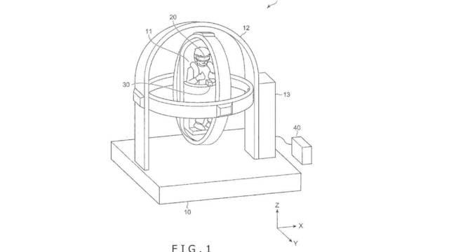 """Sony patenta un """"sistema de control de postura"""" para la realidad virtual"""