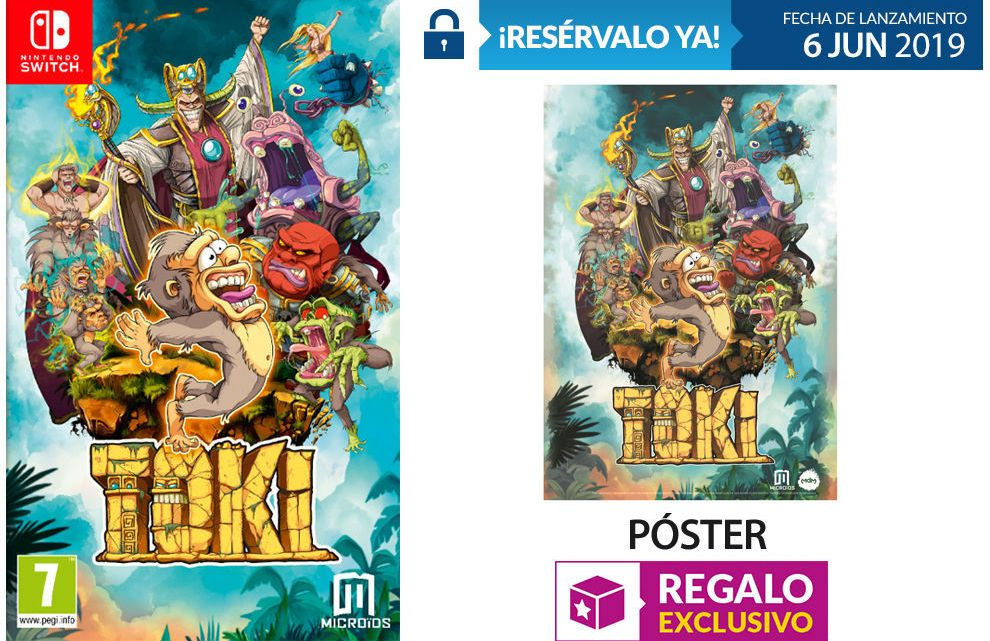 GAME detalla los incentivos por reservar TOKI en PlayStation 4 y Switch